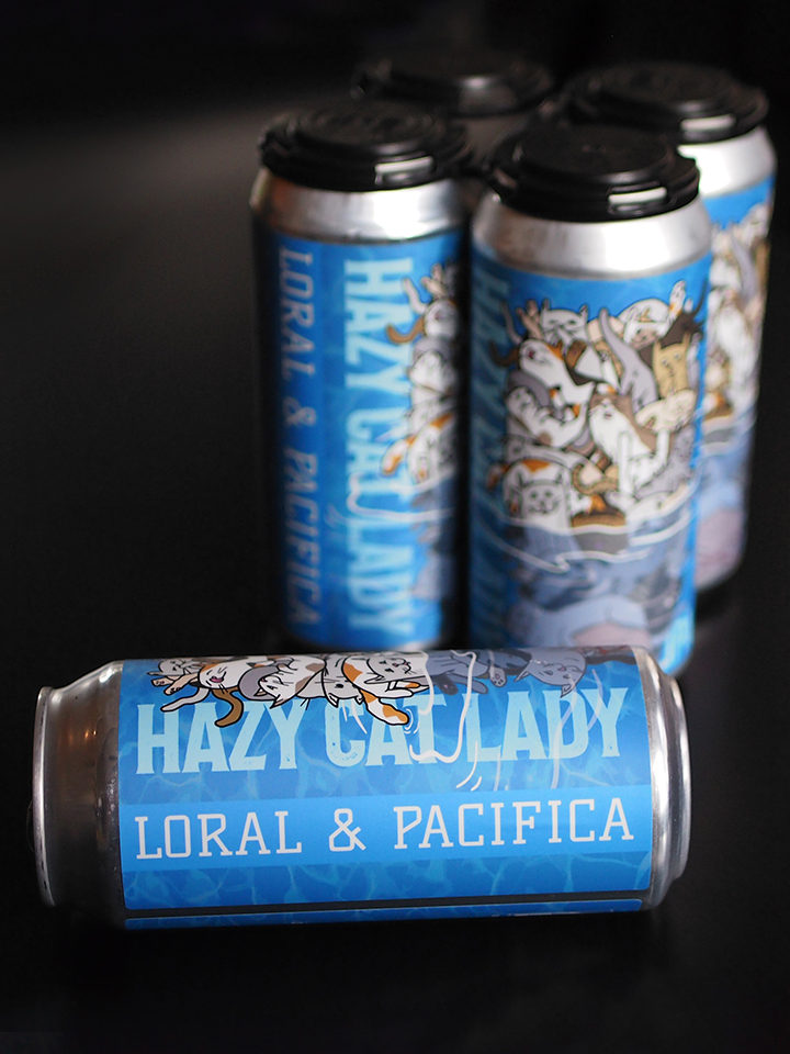 Double dry hopped IPA with Pacifica and Loral Hops. ABV: 6.8% | $18 / 4pack (not limits)
