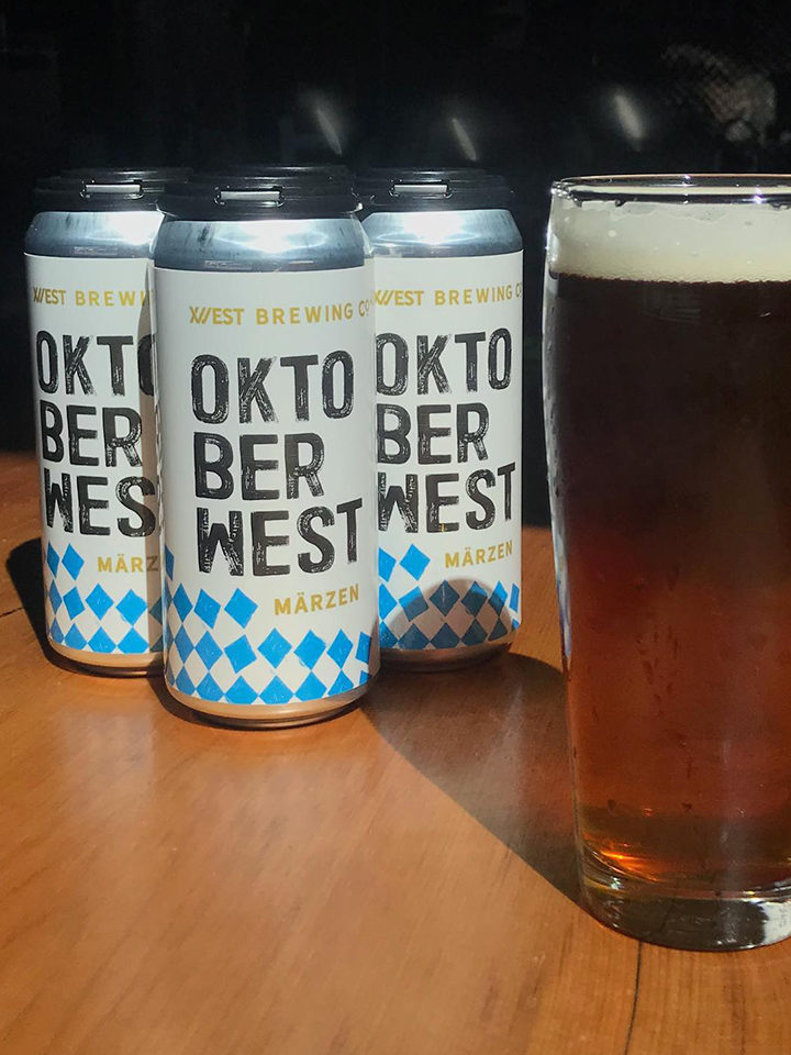 A traditional Oktoberfest Märzen. ABV: 5.8%, 16oz 4pack (no limits) $14