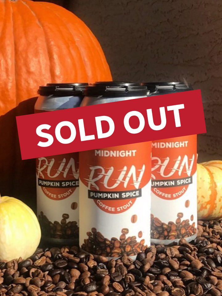 Pumpkin spice coffee stout with a blend from Spirit Mountain Coffee in Yuma, AZ. 5.3% ABV 16oz SOLD OUT