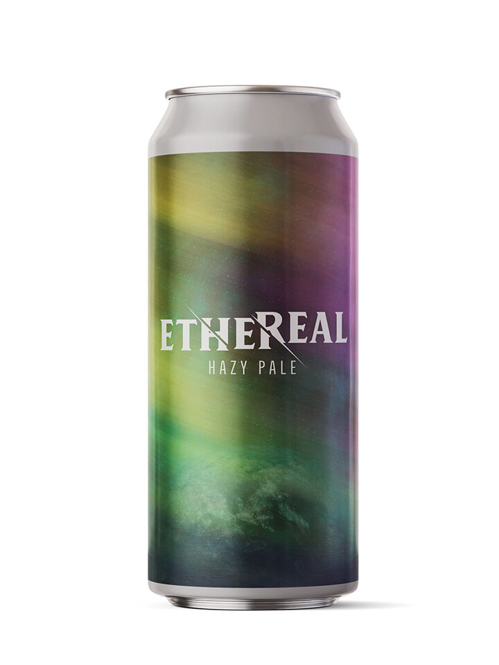 Citra Hopped Hazy Pale Ale 5.8% ABV | 16oz 4pack (no limits) $18