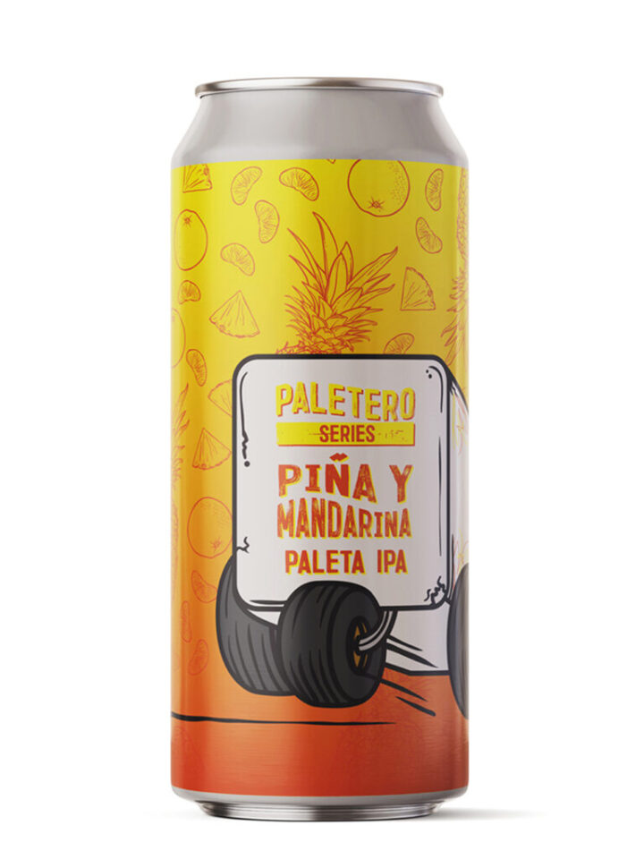 Paleta IPA with Tangerine & Pineapple 6.5% ABV | 16oz 4 Pack (No Limits) $18