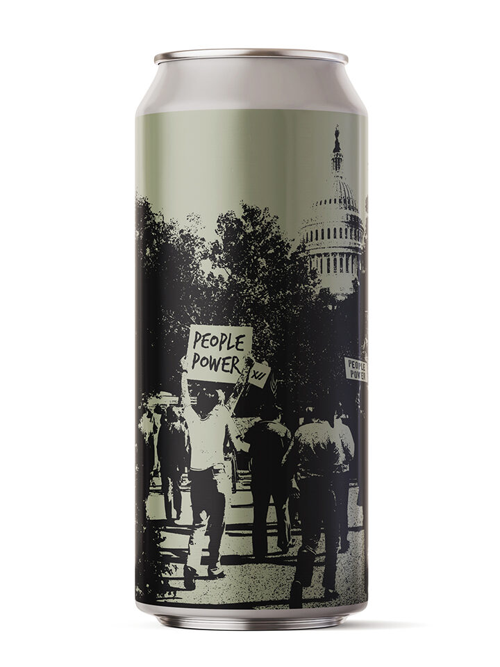 10% of the proceeds to the ACLU. Hazy IPA: 6.5% ABV | 16oz 4pack $18