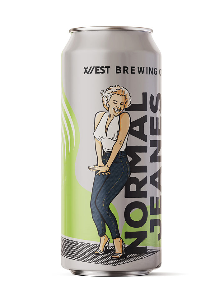 Hoppy Lager with Monroe hops 5.2% ABV | 16oz 4pack (no limits) $15