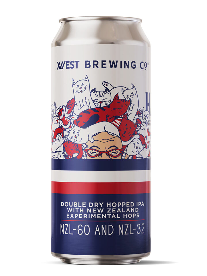 IPA with NZ hops:  NZL-60 and NZL-32 6.6% ABV | 16oz 4pack $18
