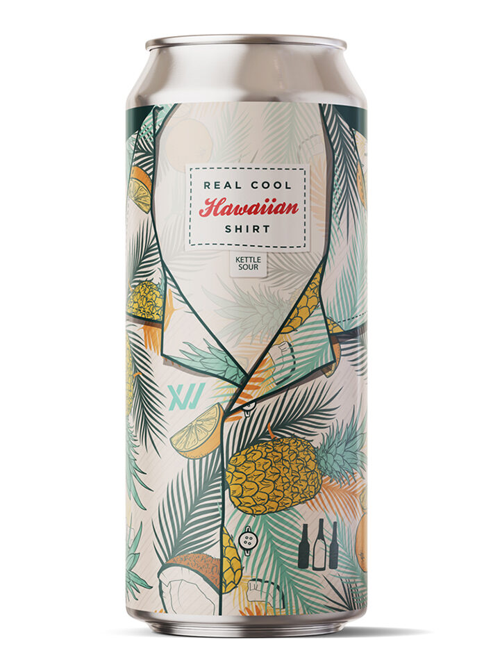 Kettle Sour w/ Pineapple, Orange, Coconut, & Lactose. 6.5% ABV | 16oz 4pack $20