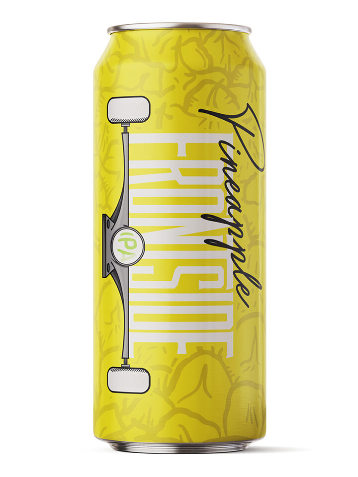 Frontside IPA with Pineapple 7.5% ABV | 16oz 4pack  $20